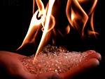 Fire in Slow Motion
