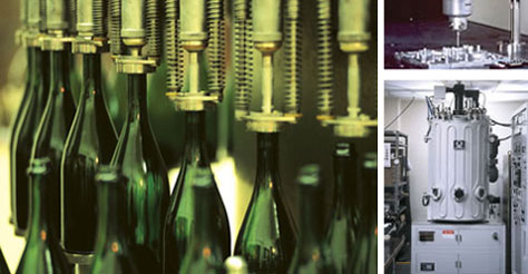 Bottles In Process of Being Made, Production Line Maintenance