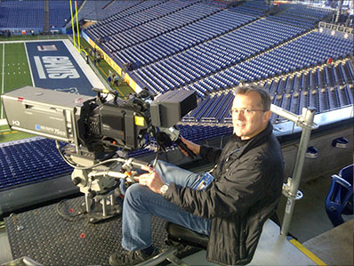 Andy Hayford and the NAC Hi-Motion II at the Super Bowl!