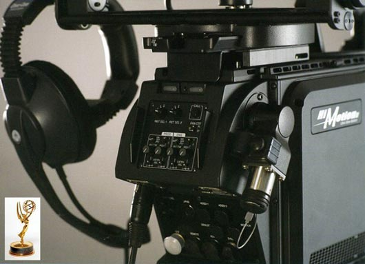 Close-up of the EMMY award winning Hi-Motion II