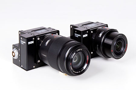 Photo of M-CamMFT high speed cameras