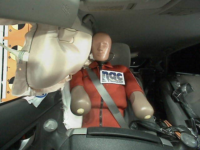 Airbag Deployment show by On Board Camera