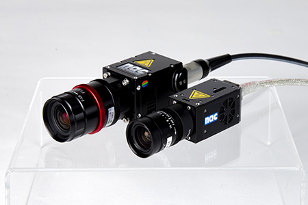 Photo demonstrating M2-Cam and M3-Cam size difference