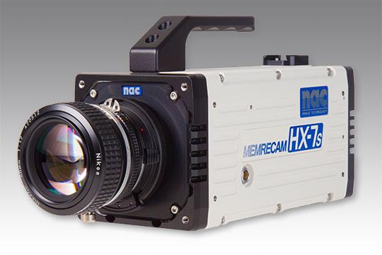 nac MEMRECAM HX-7s High Speed Camera Systems