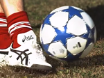 Ultra Slow Motion Soccer Kick
